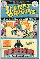 Secret Origins 6 DC 1974 FN VF Nick Cardy Superboy 147 Military Comics 1