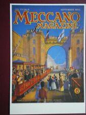 POSTCARD  MECCANO MAGAZINE COVER SEPT 1950