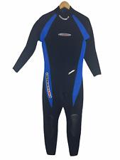 Henderson Dive Wear Mens Full Wetsuit Size Medium 5mm Scuba - Excellent Cond!