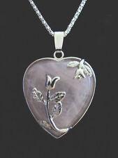 Rose Quartz Alloy Fine Necklaces & Pendants