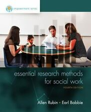 Empowerment Series Essential Research Methods for Social Work by Earl R. Babbie