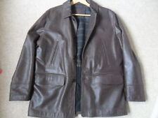 Marks and Spencer Leather Collared Coats & Jackets for Men