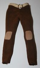 Barbie Doll My Scene Brown Corduroy Pants with attached Belt
