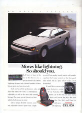 Toyota Celica Special Edition White Lightning Advertisement from a magazine