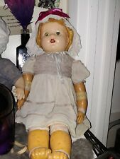 Old Compo Baby Doll Needs Tlc