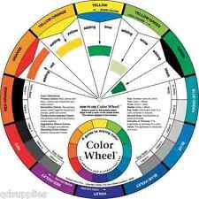 GRANDE RUOTA di colore artista PITTURA MISCELAZIONE Guide Aiuti educativo arte pittura teoria
