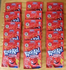 15 packets of KOOL-AID drink mix: CHERRY flavor, powdered, UNSWEETENED