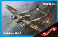 Mikro-Mir 48-016 Fokker G.1A plastic model kit 1/48