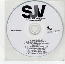 (FU69) Sharam Jey ft Nik Valentino, In My Blood - DJ CD