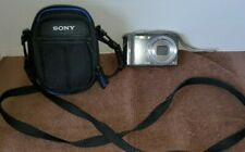 Sony Cybershot DSC-W370 14.1MP Digital Point & Shoot Camera + Case, Charger