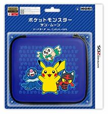HORI Pocket Monsters Sun Moon Hard Pouch Nintendo 2DS Pokemon Game Cover Case FS