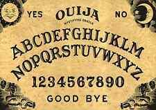 "WOODEN 16""x11""ORIGINAL STYLE"" OUIJA SPIRIT BOARD & PLANCHETT GHOST MAGIC"