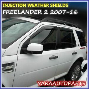 QUALITY Weather Shields  Window Visors for LAND ROVER FREELANDER 2  2007-16