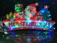 Merry Christmas Led Window Light battery And Usb operated multi colour