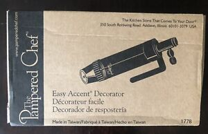The Pampered Chef Easy Accent Decorator 1778