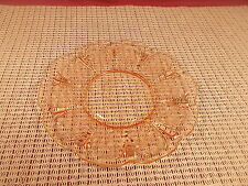 """Jeannette Depression Glass Cherry Blossom Pink Bread Plate 6"""""""