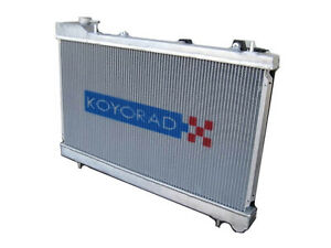 Koyo HH012597 48mm HH Series Racing Aluminum Radiator for 70-74 Celica 2.0