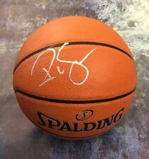 GFA HOF Houston Rockets * RALPH SAMPSON * Signed Autograph Basketball PROOF COA