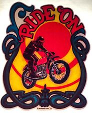 70's Enduro Motor Bike RIDE ON Yamaha Motorcycle motocross vTg t-shirt iron-on