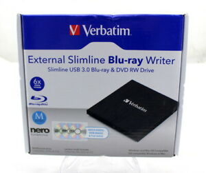 Verbatim External Blu-Ray Writer - Brand New - Sealed