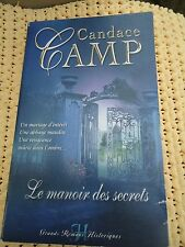 HARLEQUIN  HISTORIQUE GRANDS ROMANS lot de 2  N°  4 et 12 - CANDACE CAMP