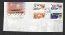 China Hong Kong , 1999 50th Founding of Peoples Republic China stamp on fdc