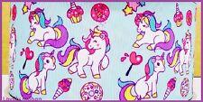 1 metre, UNICORN, 25mm, Ribbon, Ice-Cream, 1 inch, Rainbow, Grosgrain, Horse