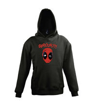 Fun Kinder Hoodie Kapuzen Pullover Deadpool Are You Serious Avengers Heroes
