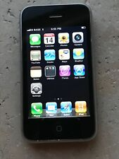 Apple iPhone 3G - 8GB - Unlocked - Noir - Bon état