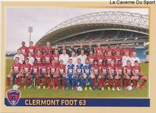 492 EQUIPE TEAM # CLERMONT FOOT 63 STICKER PANINI FOOT 2015