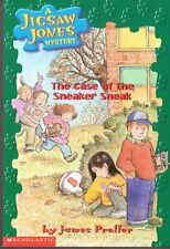 THE CASE OF THE SNEAKER SNEAK-A JIGSAW JONES MYSTERY-76 PAGES-NOVEMBER 2001