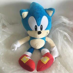 SONIC The Hedgehog PLUSH Toy Stuffed Soft Teddy Doll Kid Gift 40cm FREE Shipping
