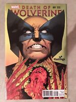 DEATH OF WOLVERINE 1 RARE HASTINGS VARIANT COVER