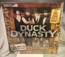 NEW Duck Dynasty Redneck Wisdom Family Party Board Game 10+ Boys & Girls SEALED