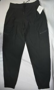 NWT $98 4 Tall (S Tall) Athleta Black Venture Go Far Travel Pant Pockets #566665