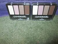 2X Lot COVERGIRL Enhancers EYE SHADOW 4 Kit QUAD Negative Space 203