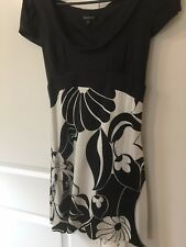 Bebe, Cute Japanese Kimono style Dress, size M, Black & White