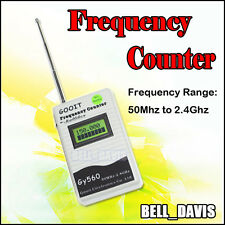 GOOIT GY560 50Mhz to 2.4Ghz PROTABLE FREQUENCY COUNTER