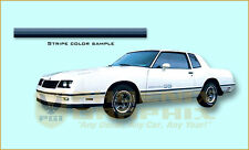 1983 1984 Chevrolet Monte Carlo SS Super Sport Stripes and Decal Kit