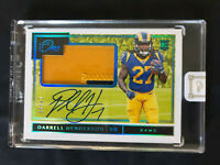 2019 Panini ONE Darrell Henderson RPA ON CARD Rookie Auto Rams 2 Color Patch /99