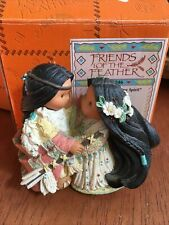 """friends of the feather figurines: """"Be One Heart One Spirit� 1998"""