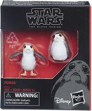 Star Wars The Black Series Porg 2-PK Action Figures Last Jedi**** IN STOCK
