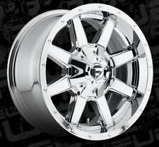 18x9 ET20 Fuel D536 Maverick 8x170 Chrome Rims (Set of 4)