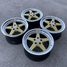 """Alumi-k TRD Ssr Jdm 18"""" Staggered 5x114.3 3 Piece Wheels"""