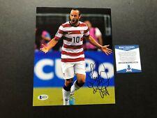 Landon Donovan Rare! signed autographed Usa soccer 8x10 photo Beckett Bas coa