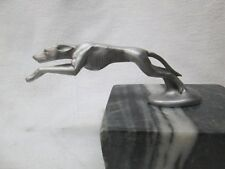 linclon greyhound dog  ratrod hotrod car hood ornament