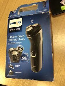 P225 Philips Men's Dry Cordless Shaver - Series 1000 S1133 - WORKS