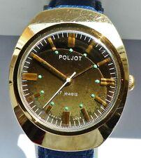 Poljot 17Jewels Herren Armbanduhr aus den 70er Jahren