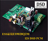 Assembled ES9028 I2S input decoders  ES9028Q2M mill board DAC
