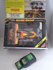 (1998) TMH FlexPak <TYCO R/C NITRO BULLDOZER CAR 49MHz> Black/Yellow w/ Box